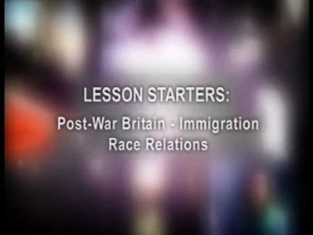 Post-War Britain: Immigration – Race Relations
