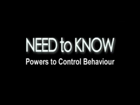 Powers to Control Behaviour