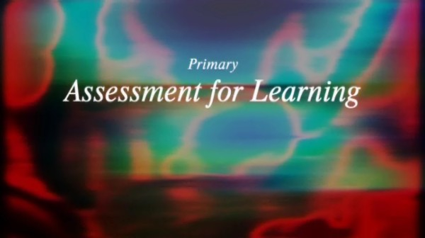 Primary Assessment for Learning – Speaking and Listening: Year 1