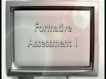 Primary Assessment – Formative Assessment 1