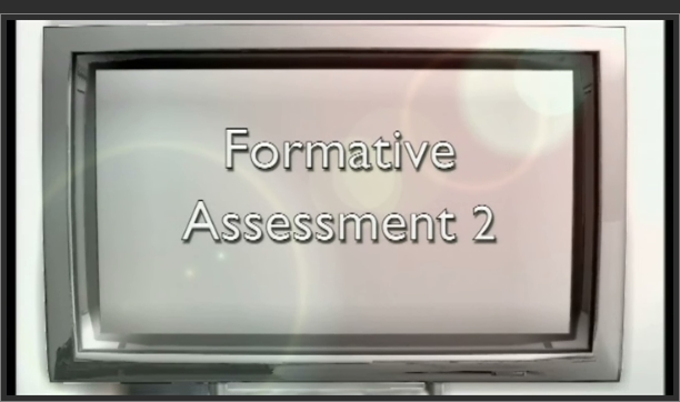 Primary Assessment – Formative Assessment 2