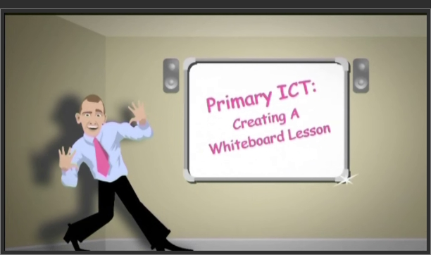 Primary ICT – Creating a Whiteboard Lesson