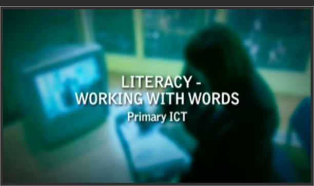 Primary ICT – Literacy – Working with Words