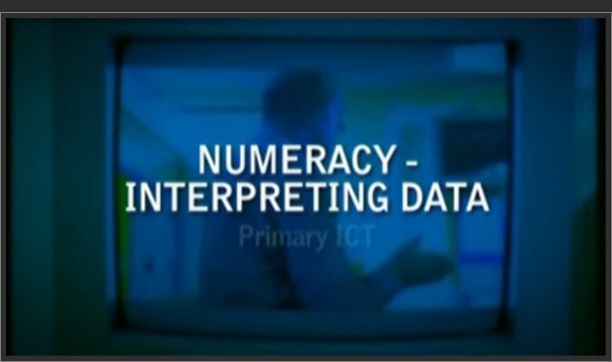Primary ICT – Numeracy – Interpreting Data
