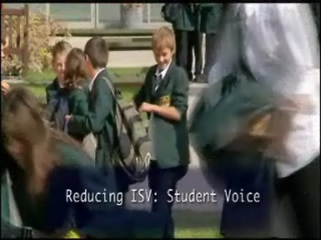 Reducing ISV – Student Voice