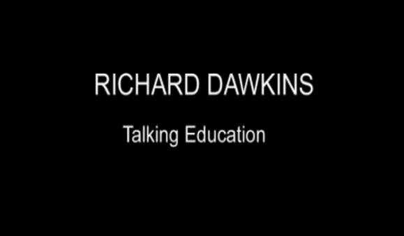 Richard Dawkins – Talking Education – Episode 1