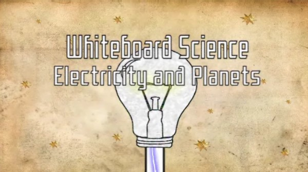 Science: Electricity and Planets