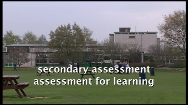 Secondary Assessment – Assessment for Learning: Sharing the Criteria