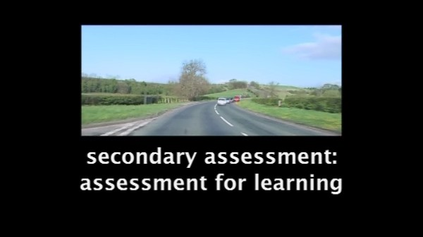 Secondary Assessment – Assessment for Learning: A Special Case