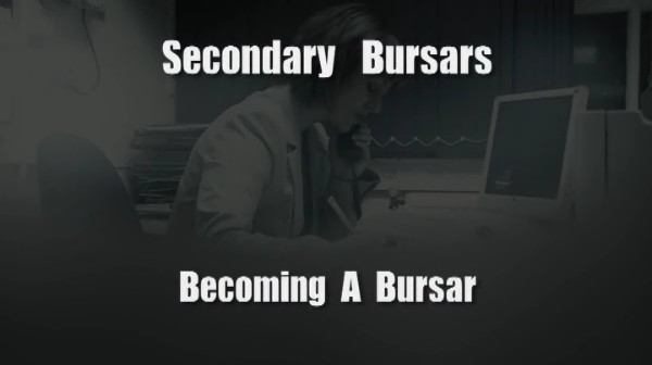 Secondary Bursars – Becoming a Bursar