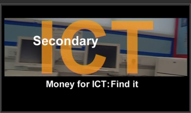 Secondary ICT – Money for ICT: Find It