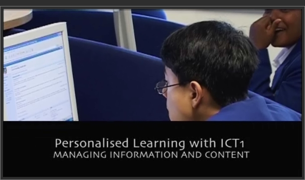 Secondary ICT – Personalised Learning with ICT 1