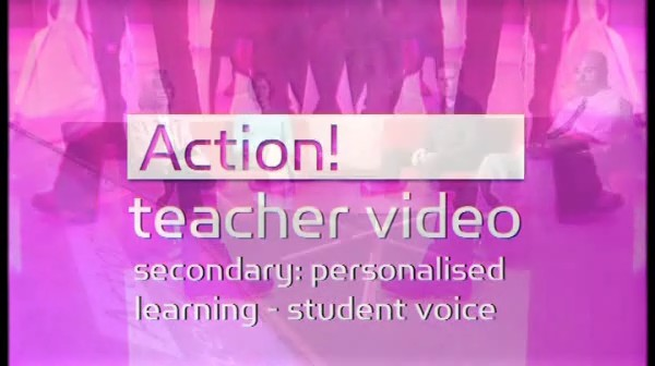 Secondary Personalised Learning: Student Voice