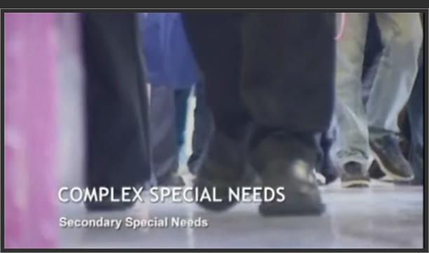 Secondary Special Needs – Complex Special Needs
