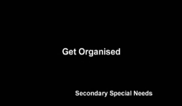 Secondary Special Needs – Get Organised
