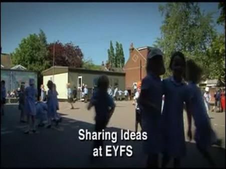 Sharing Ideas at EYFS
