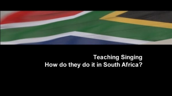 South Africa – Teaching Singing