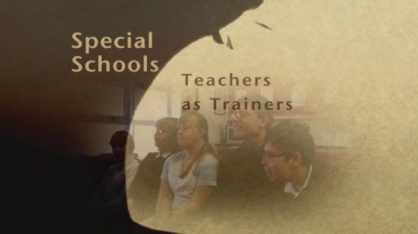 Special Schools – Teachers as Trainers