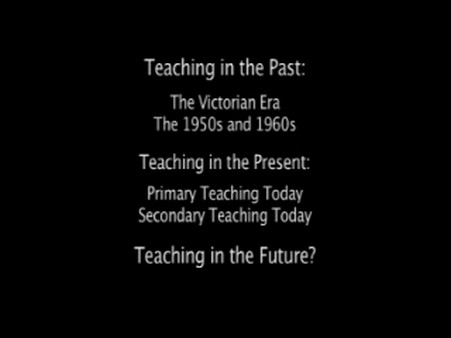 Teaching Past, Present and Future