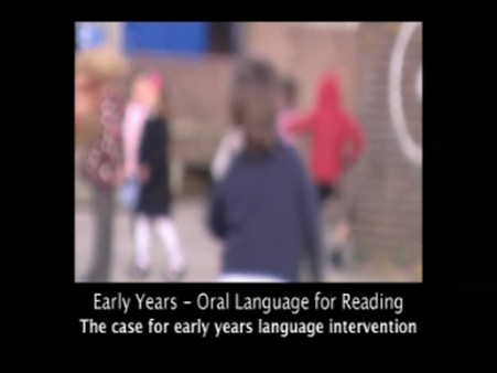The Case for Early Years Language Intervention
