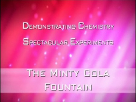 The Minty Cola Fountain