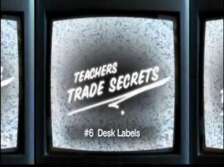 Trade Secrets – Desk Labels