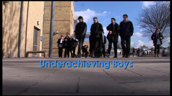 Underachieving Boys: Getting Involved