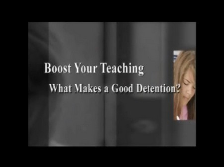 What Makes a Good Detention?