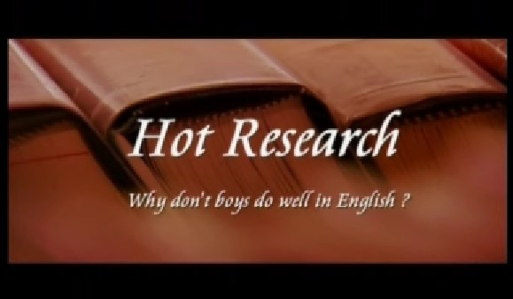 Why Don't Boys Do Well in English?