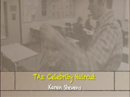 Celebrity Haircut – Karen Stevens
