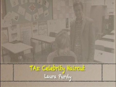 Celebrity Haircut – Laura Purdy