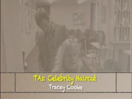 Celebrity Haircut – Tracey Cooke