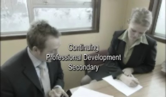 Continuing Professional Development – Secondary – Personalising CPD