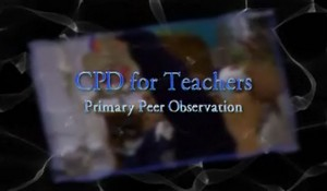 CPD for Teachers – Primary Peer Observation