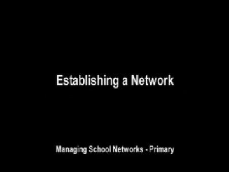 Establishing a Network (Primary)