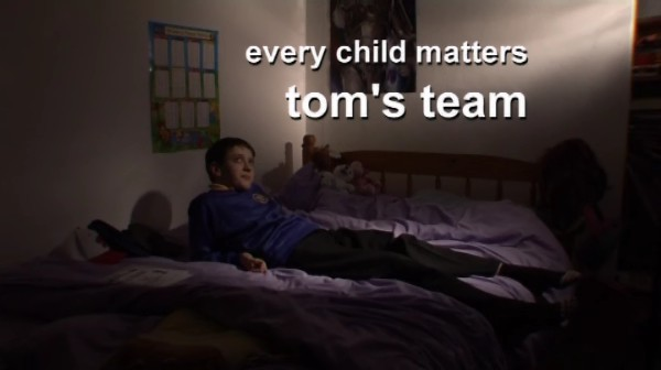 Every Child Matters – Tom's Team