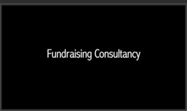 Fundraising Consultancy