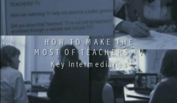How to Make the Most of Teachers TV – CPD Leaders