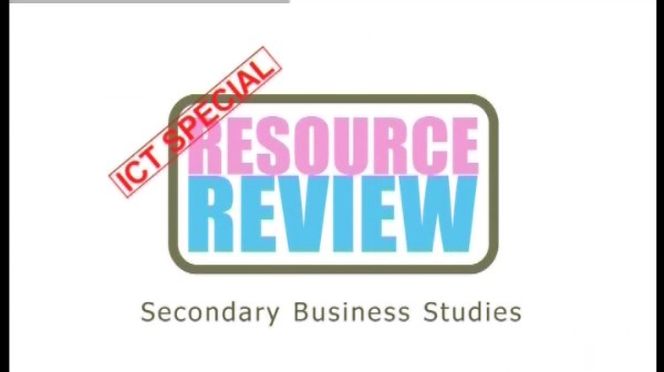 ICT Special: Secondary Business Studies