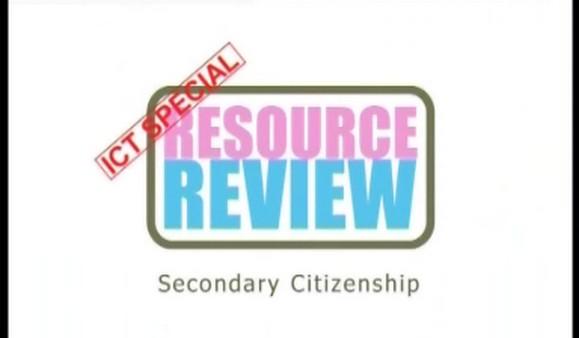 ICT Special: Secondary Citizenship