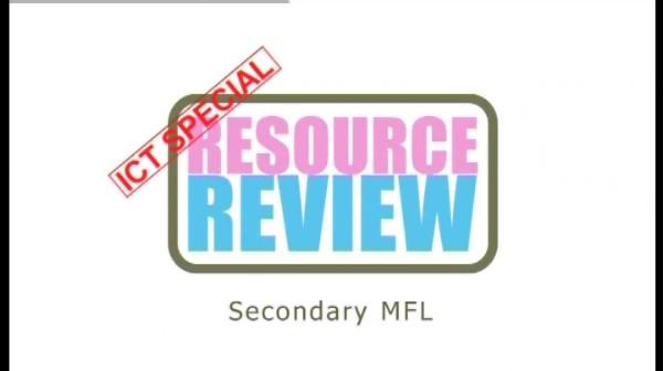 ICT Special: Secondary MFL