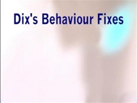 Interactive Behaviour Simulations – Paul Dix's Fixes