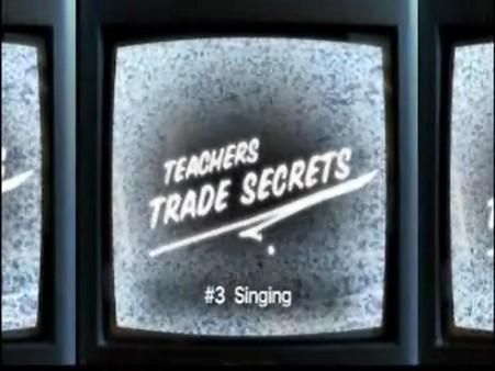Interstitials – Trade Secrets – Singing