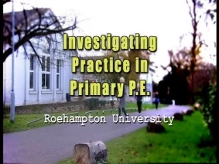 Investigating Practice in Primary PE