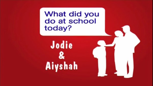 Jodie and Aiyshah (KS3)