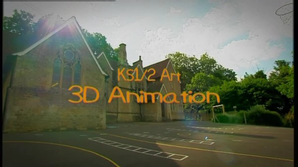 KS1/2 Art – 3D Animation