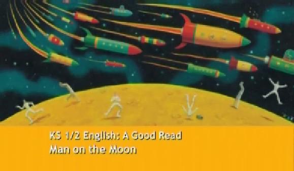KS1/2 English – A Good Read – Man on the Moon