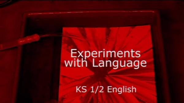 KS1/2 English – Experiments with Language