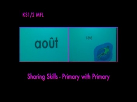 KS1/2 MFL – Sharing Skills- Primary with Primary
