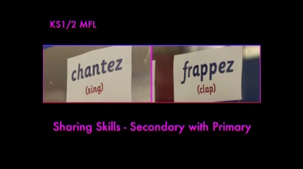 KS1/2 MFL – Sharing Skills – Secondary with Primary
